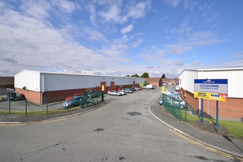 Northern Trust's Recent Acquisition - 44,170 sq ft Golborne Enterprise Park