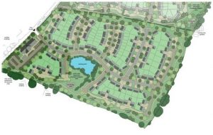 Outline plans for 93 Homes