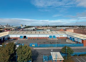 Maritime Enterprise Park in Bootle, Liverpool.