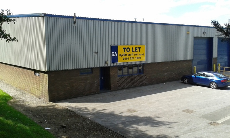 Number One Industrial Estate - Unit 6A  - Industrial Unit To Let - Number One Industrial Estate, Consett