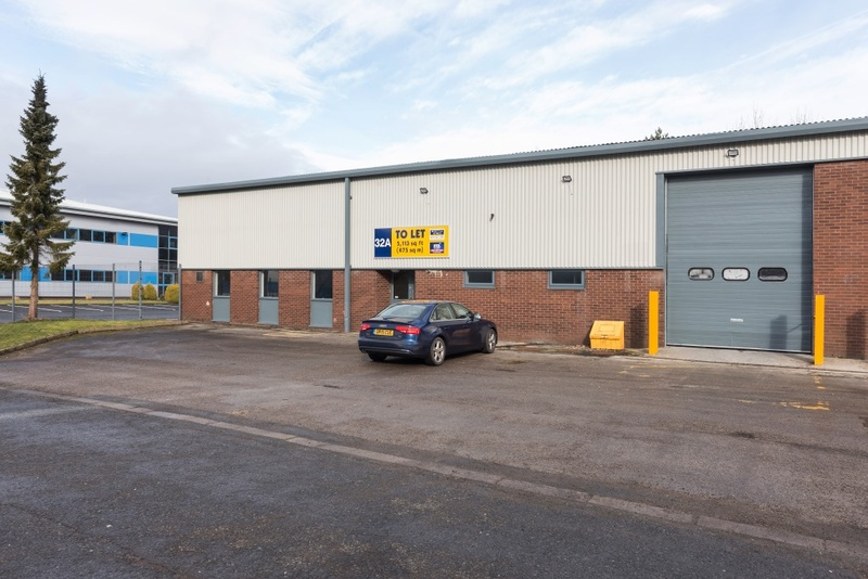 Number One Industrial Estate - Units 32A&B  - Industrial Unit To Let - Number One Industrial Estate, Consett