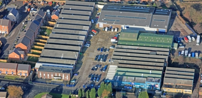 Industrial Unit  - Bentley Lane Industrial Estate, Walsall
