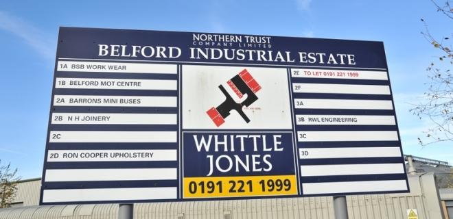 Industrial Unit - Belford Industrial Estate,Belford