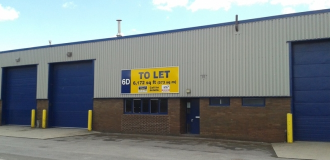 Number One Industrial Estate - Unit 6D  - Warehouse