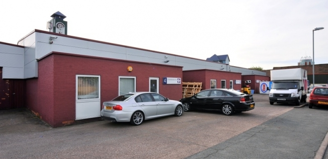 Industrial Unit To Let - Octagon Business Park, Cannock