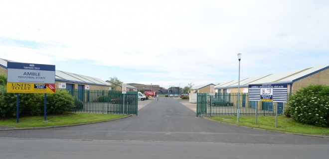 Amble Industrial Estate - Blocks 5-8  - Industrial Unit To Let- Amble Industrial Estate, Amble
