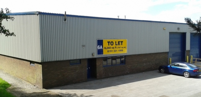 Number One Industrial Estate - Unit 6A  - Warehouse