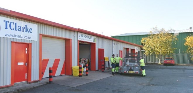 Lochside Industrial estate Units To let Dumfries (3)
