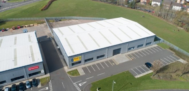 Excelsior Park Industrial Unit To Let Wishaw (8)
