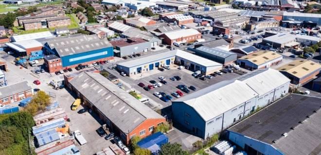 Clifton Trade Park Aerials-1
