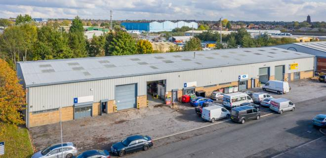 Everite Road Industrial Estate  - Industrial Unit To Let - Everite Road Industrial Estate,Widness