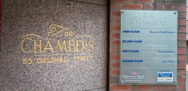 The Chambers - offices to let preston (1)