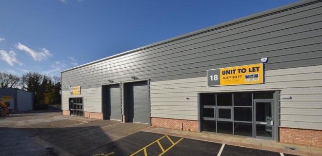 Leyland Trading Estate new development industrial units to let (9)