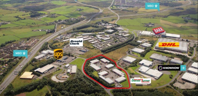 Industrial Unit To Let - Westfield North Courtyard, Cumbernauld