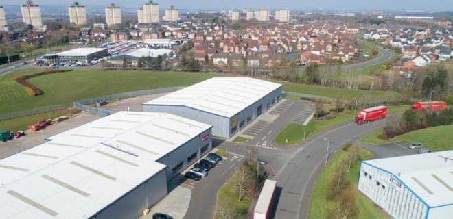 Excelsior Park Industrial Unit To Let Wishaw (1)