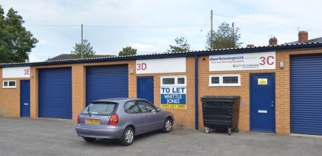 Industrial Unit - Castle Close Industrial Estate, Crook