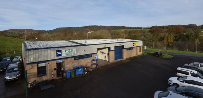Industrial Unit - Rothbury Industrial Estate, Rothbury
