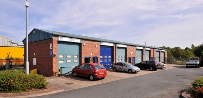 Industrial Unit - Brook Street Business Centre, Tipto