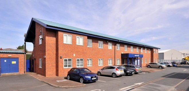 Industrial Office To Let - Brook House, Tipton