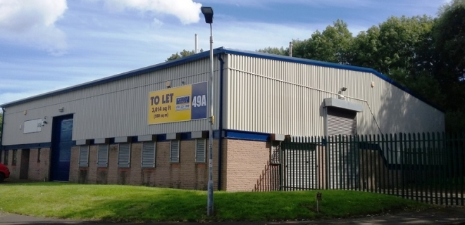 Bede Industrial Estate -  Cuthbert Court Unit 49A