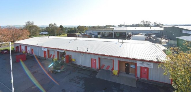 Lochside Industrial estate Units To let Dumfries (1)