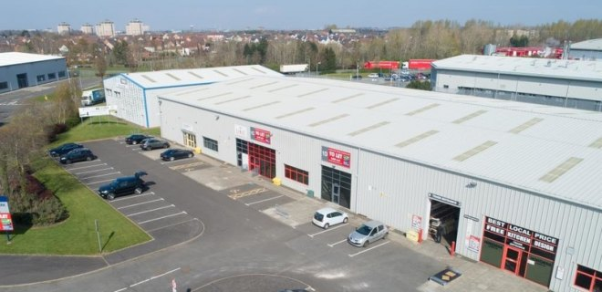 Industrial Units to Let Wishaw - Units 1C and 1D Excelsior Park (9)