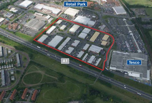 BUSINESS CLASS LETTINGS FOR AIRPORT INDUSTRIAL ESTATE