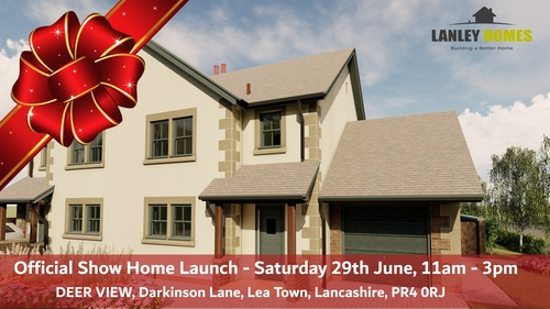 LANLEY HOMES SET TO LAUNCH SHOW HOME AT LEA TOWN