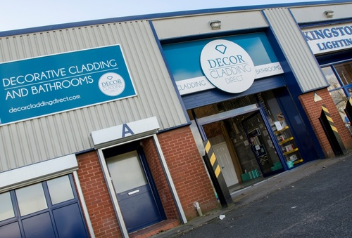 Press news decor cladding direct joins consett 39 s number for Decor cladding direct