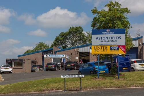 ASTON FIELDS TRADING ESTATE SECURES NEW LETTING TO ACRE AND TWEED LTD