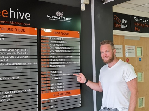 BUSINESS HUB SERVICES MOVE INTO THE BEEHIVE, BLACKBURN