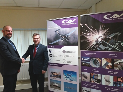 CAV ICE PROTECTION LTD TAKE ADDITIONAL SPACE AT NUMBER ONE INDUSTRIAL ESTATE, CONSETT