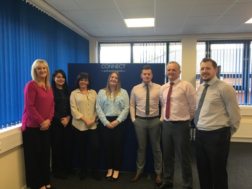 CONNECT APPOINTMENTS EXPAND AT EARLS COURT, GRANGEMOUTH