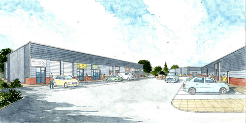 WORK STARTS ON SITE FOR NEW 42,500 SQ FT INDUSTRIAL DEVELOPMENT AT LEYLAND TRADING ESTATE, WELLINGBOROUGH