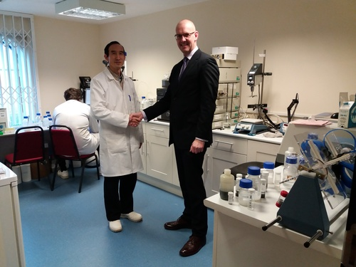 BIOTOOLOMICS LTD EXPANDS AT NUMBER ONE INDUSTRIAL ESTATE, CONSETT