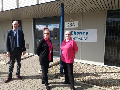 NUMBER ONE PROVIDES NEW BASE FOR EBONEY HOME CARE LTD