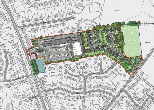 NORTHERN TRUST SUBMITS AMENDED PLANS FOR REGENERATION OF THE CARRINGTON CENTRE