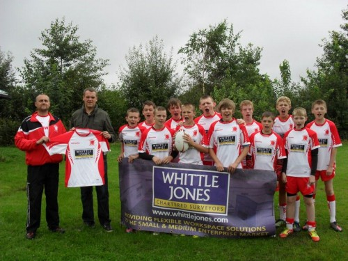 WHITTLE JONES SPONSORS LOCAL RUGBY TEAM
