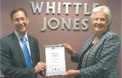 WHITTLE JONES PROUD TO BE BLACK COUNTRY CHAMBER PATRON