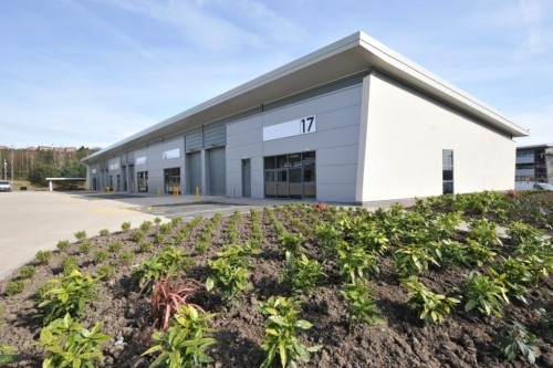 NORTH STAFFS BUSINESS PARK NOW OVER 85% LET