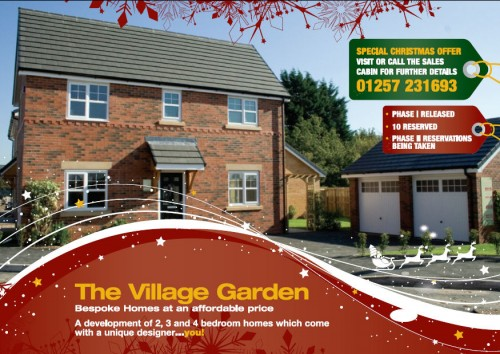 CHRISTMAS COMES EARLY AT THE VILLAGE GARDEN