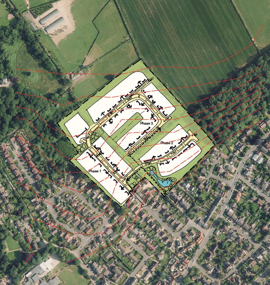 Land off Orchard Close, Burton Joyce