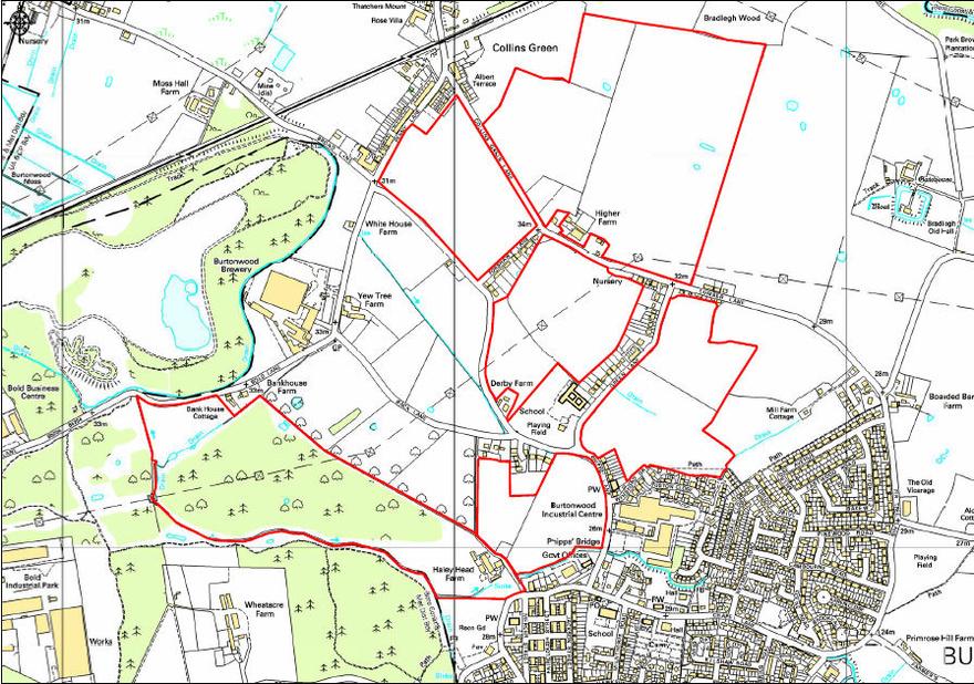 Land off Phipps Lane, Burtonwood, Warrington