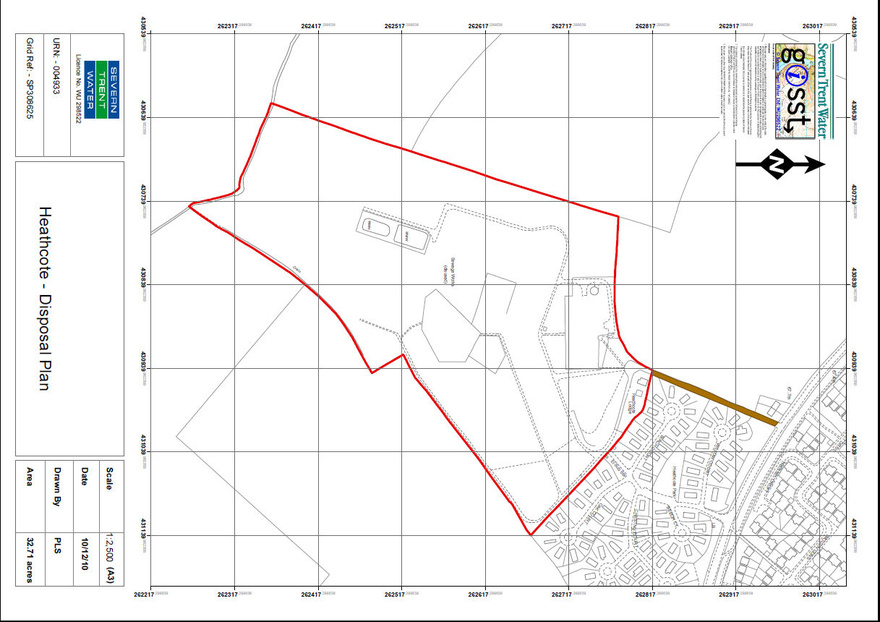 Heathcote Sewage Treatment Works, Leamington Spa