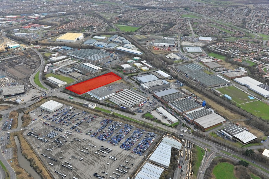 Land at Bede Industrial Estate - DEVELOPMENT OPPORTUNITY